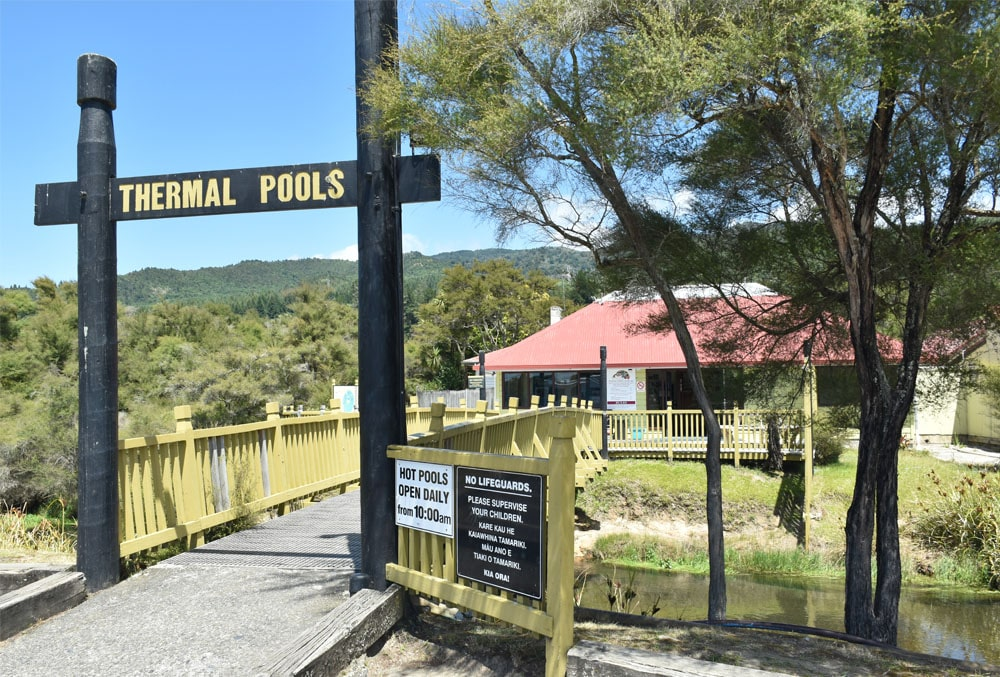 Tokaanu Hot pools